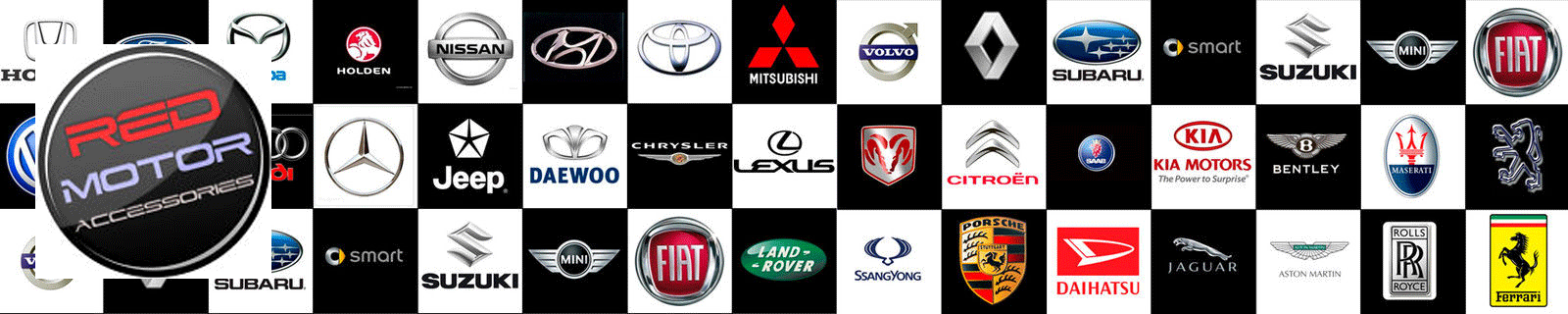 RED MOTOR ACCESSORIES